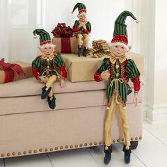 """21""""H Posable Christmas Elf ,"""