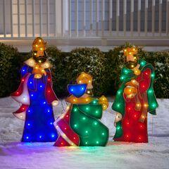 Set of 3 Wise Men Yard Decor,