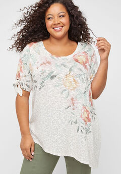 Floral Slope Shirt,