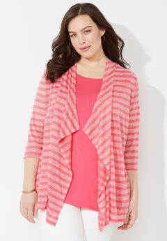 Plaza Striped Duet Top,