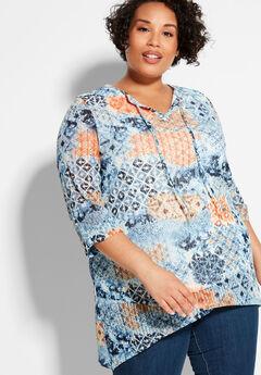Sunrise Lace Tunic,
