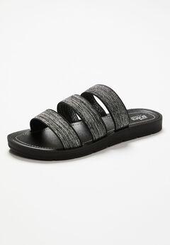Good Soles Stretch Slide Sandal,