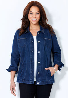 Sparkling Denim Jacket,