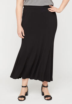 AnyWear Maxi Swing Skirt,