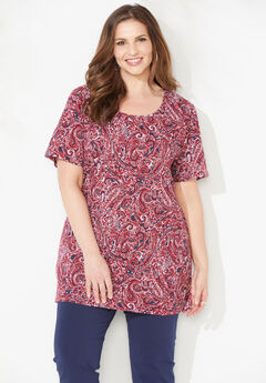 Scoopneck Easy Fit Tee,