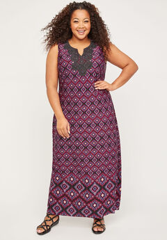 Terrace Ridge Maxi Dress,