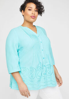 Blue Ridge Meadow Top, AQUA