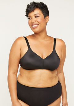 No-Wire Backsmoother Bra,