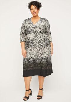 Mountaintop Wrap Dress,