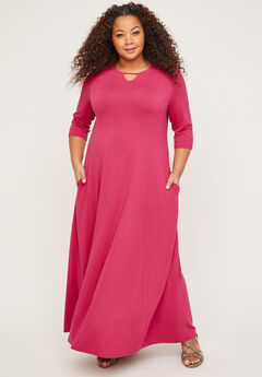 Free & Easy Maxi Dress (With Pockets),