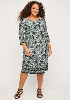 Paisley Grove Shift Dress,