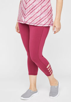 Strappy Active Legging Capri,
