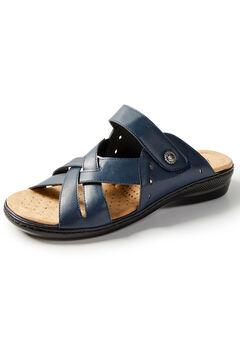 Good Soles Crisscross Slide Sandal,