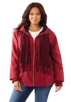 Bennington 3-in-1 Coat With Scarf,