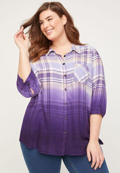 Bratton Park Buttonfront Top,