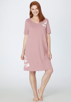 Rosy Outlook Sleepshirt,