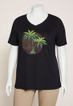 Tropical Shine Tee,