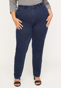 The Knit Jean with Zip Fly, BOURBON WASH