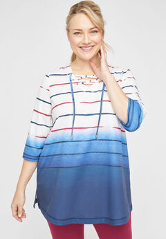 Striped Bliss Tunic,
