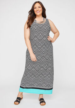 Maine Shores Maxi Dress,