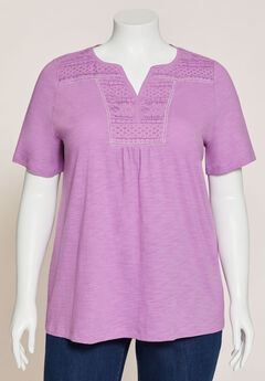 Touch of Lace Tee,