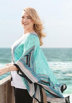 Turquoise Sea Kimono,