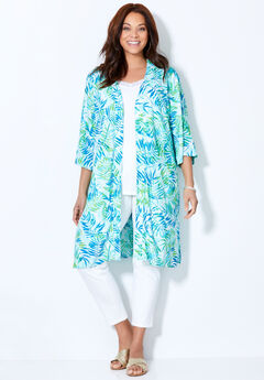 Effortless Long Kimono,