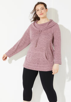 Impossibly Soft Cowlneck Tunic,