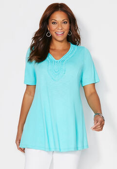 Cottage Way Swing Tunic,