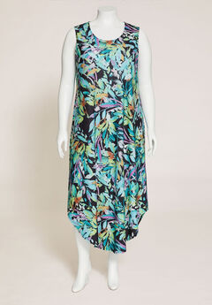 Palmdale Round-Hem Maxi Dress,