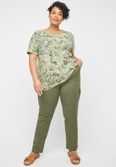 Pull-On Cargo Pant,