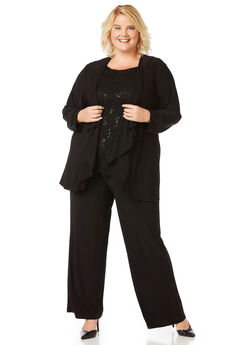 Evening Shine Pantsuit,