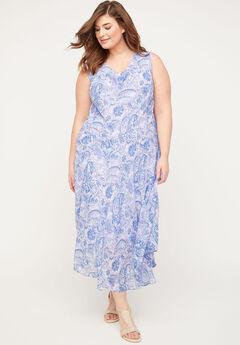 Canyon Lake Paisley Dress,