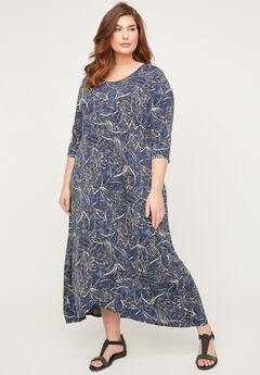 AnyWear Wild Breeze Maxi Dress,