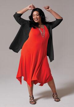 Suncoast A-Line Midi Dress,