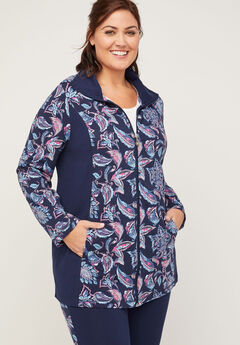 Paisley Block Yoga Jacket,