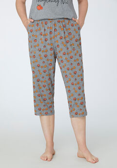 Pumpkin Spice Sleep Capri,