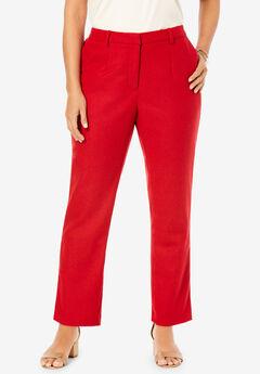 Wool-Blend Trousers,