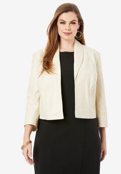 Leather Shrug Jacket,