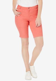 5-Pocket Denim Shorts,