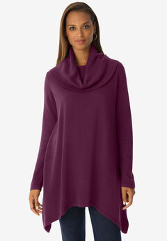 Cowl Neck Sweater Tunic,