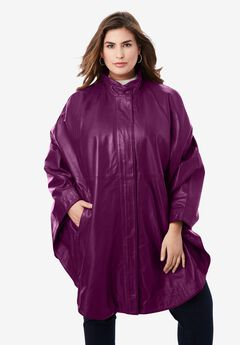 Leather Poncho,