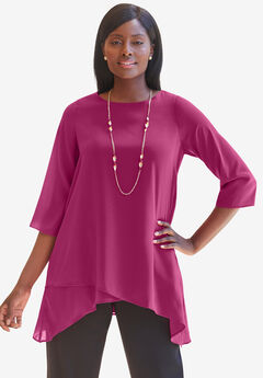 Georgette Overlay Blouse,