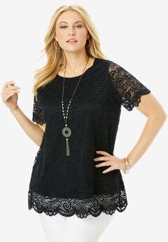 Lace Tunic,