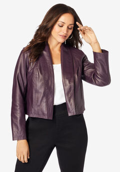 Leather Shrug,