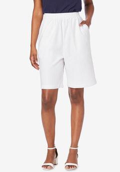 Linen Short, WHITE