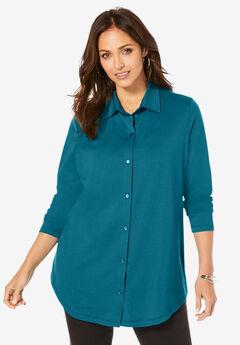 Boyfriend Shirt Tunic,