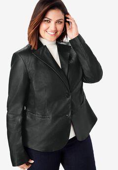 Peplum Jacket, BLACK