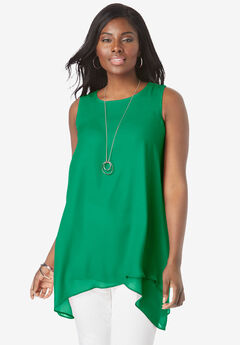 Crinkled Tunic,