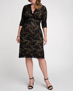 Scalloped Boudoir Lace Dress,